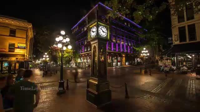 تایم لپس فوق العاده از شهر ونکوور (HD )