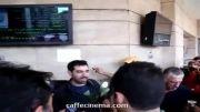 گل پخش کردن شهاب حسینی و حامد بهداد