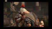 کشته شدن پدرم روم در بازی Ryse Son of Rome