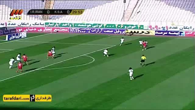 خلاصه بازی المپیک ایران 1 - 2 المپیک عربستان