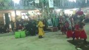 شهادت امام حسین تعزیه روز عاشورا روستای طاق شهرستان دامغان