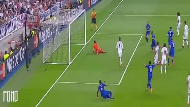 رئال مادرید 1 - 1 یوونتوس (گل آلوارو موراتا)