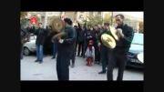 عزاداری هییت محله قاضی دماوند در روز عاشورا