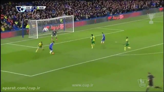 گل های بازی؛ چلسی ( 1 ) - نورویچ سیتی ( 0 )