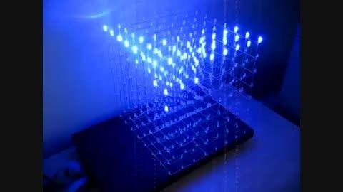 طرز ساخت مکعب ال ای دی - مکعب نورانی بی نظیر