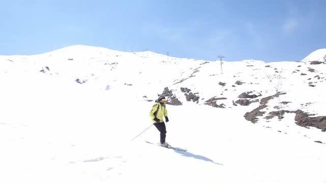 اسکی در پیست اسکی دربندسر