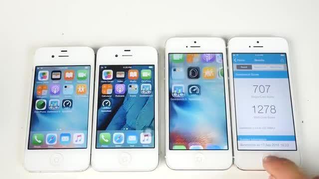 ببینید: مقایسه iOS 9.1 بتا و iOS 9 روی آیفون های 4S و 5
