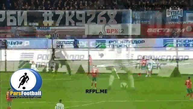 خلاصه بازی زنیت سنت پترزبورگ 0-2 لوکوموتیو مسکو