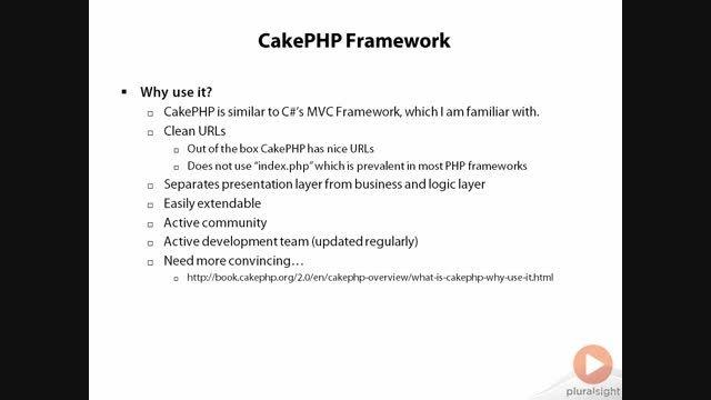 کیک پی اچ پی - قسمت سوم ( چرا کیک پی اچ پی)