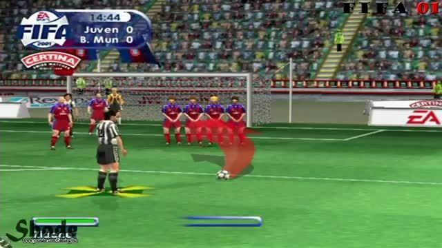 Free Kicks From FIFA 98 to 15