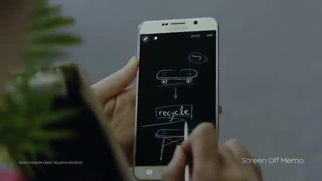 آشنایی بیشتر با قلم گلکسی نوت 5--Samsung Galaxy Note 5
