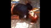 ترکیدن یک داعشی توسط کردها پیش مرگ