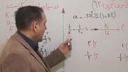 کنکور ۹۲ تجربی فیزیک تست نوسان قسمت  1  مهندس دربندی