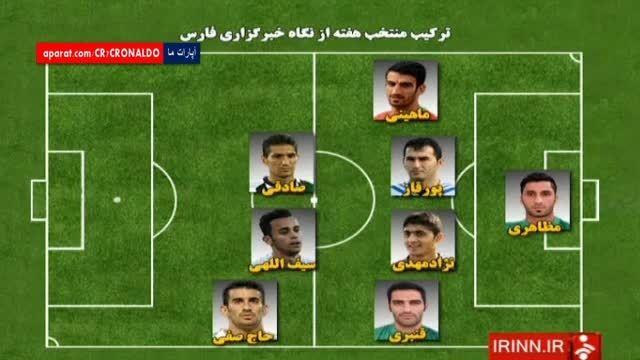 تیم منتخب هفته سوم لیگ برتر ایران 94-95