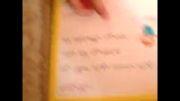 کتاب خواندن ایلیا در 3 سالگی