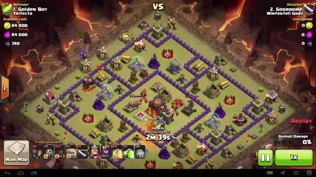 Clash of Clans - TH10 - GoHo - War 84 vs Trifecta - Goo