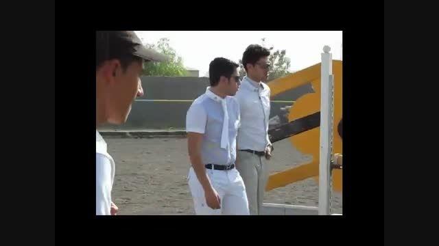 فیلم مسابقه پرش با اسب استان قم