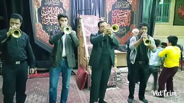 گروه موزیک دماوند در شب دوم محرم 94 در حسینیه قلعه پا