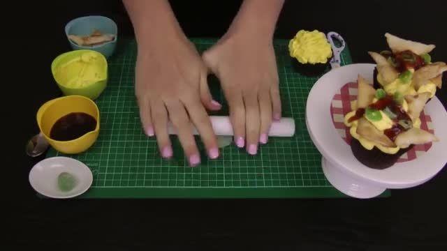 Make Nachos CUPCAKES! Mexican Cupcakes In Disguise
