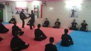 دفاع شخصی و درگیری سن سی محمدرضا ترکاشوند در دوجو آسیا