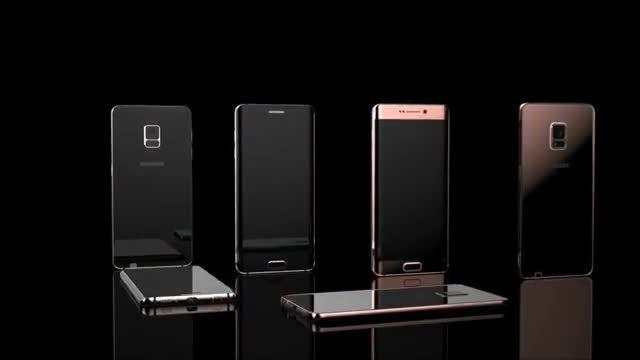 شهر سخت افزار: ویدئویی از طرح کلی Galaxy Note 5 Edge