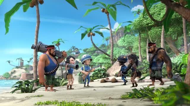 انیمیشن Boom Beach قسمت 2