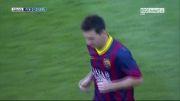 بارسلونا vs لوانته | 2 - 0 | گل مسی