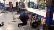 380 کیلو ددلیفت 3 تکرار توسط شهلایی