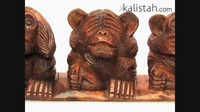 سه میمون خردمند ((توضیح ویدئو رو بخونید))