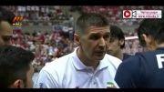خلاصه بازی لیگ جهانی والیبال لهستان ۳-۱ ایران