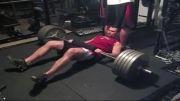 پل باسن با225کیلوگرم وزنه!!!