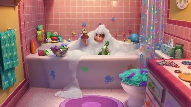 کارتون های داستان اسباب بازی ها. این قسمت:مهمانی حمامی