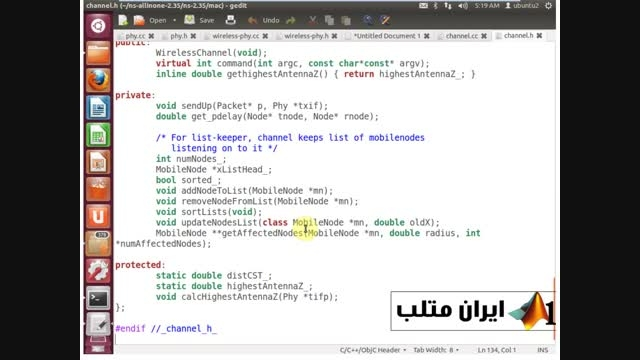 قسمت چهارم دانلود فیلم فارسی شبیه سازی شبکه NS2