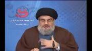هشدارهای جدید سید حسن نصرالله درجمع روزه داران