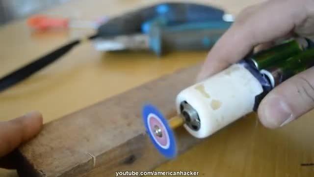 درست کردن درمل(دستگاه برش دهنده) با لوازم ساده!