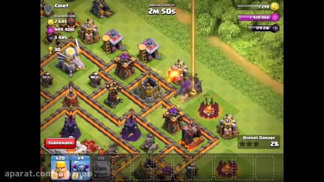 ''clash of clans new defense ''Eagle Artillery