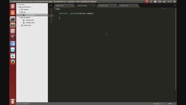 آموزش php قسمت دوم طراحی فروشگاه اینترنتی