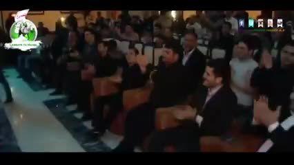 شعر خوانی کودک دروصف حضرت عباس علیه السلام به زبان آذری