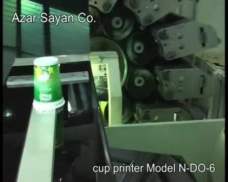 دستگاه چاپ لیوان مدل N-DO-6