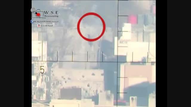 تک تیرانداز ارتش سوریه و شکار تروریست های وهابی