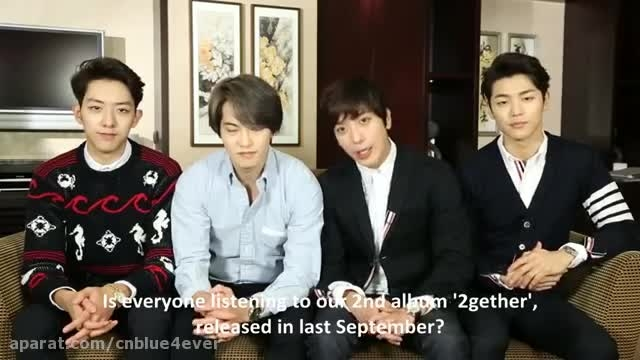 CNBLUE Message for 2016 CNBLUE LIVE -in Singapore