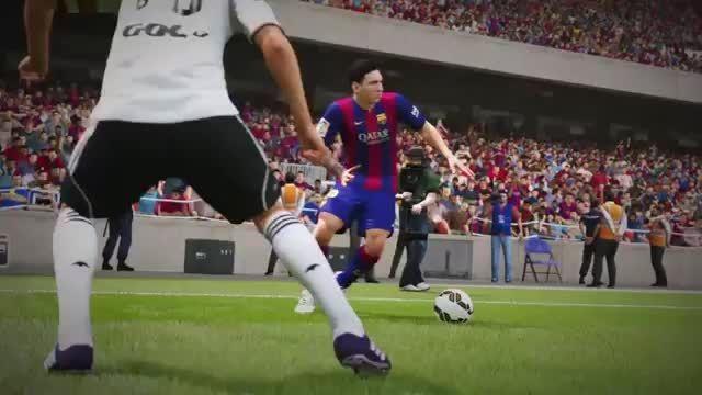 حرکات دیدنی لیونل مسی در FIFA 16