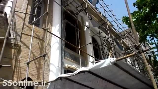 مرمت بنای موزه استاد علی اکبر صنعتی