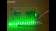 پروژه LED بارانی