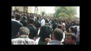 مراسم سینه زنی سنتی حسینیه اعظم شهر کاکی استان بوشهر