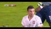 فرانسه 1 - صربستان 1 (خلاصه بازی)