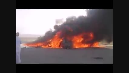 آتش گرفتن ماشین