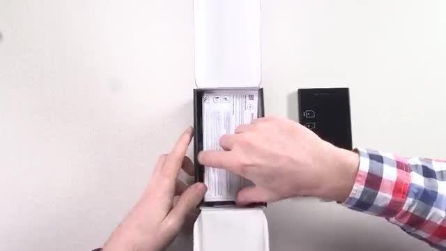 جعبه گشایی گوشی BlackBerry LEAP از بامیرو