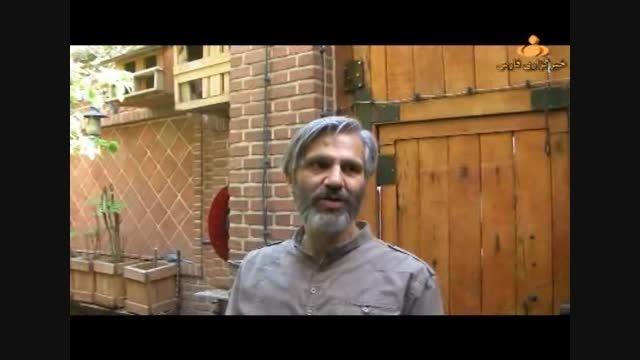 رؤیایی ترین خانه در تهران/خانه چوبی استادخوش فکر وخلاق