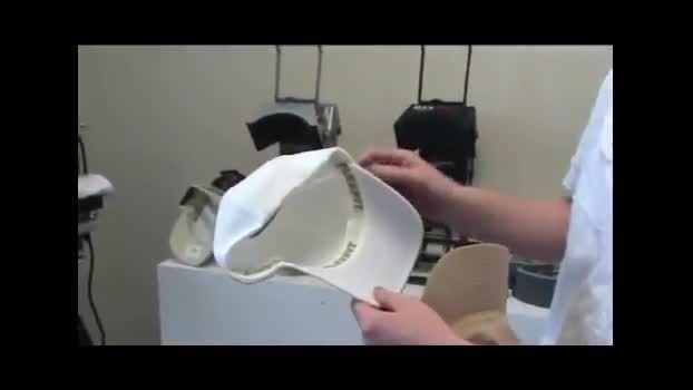 دستگاه عکس سابلیمیشن پرسی حرارتی کلاه